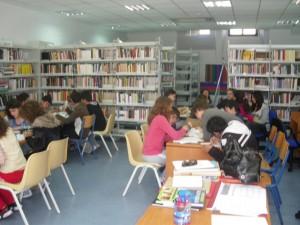 Εργασία στη Βιβλιοθήκη...